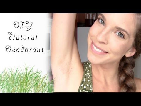 DIY Coconut Oil Deodorant using coconut oil, baking soda, and arrow root (you can substitute cornstarch for the arrow root).
