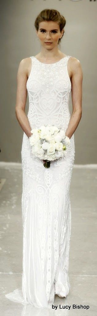 THEIA Bridal Fall Winter 2015 ~ White Collection #Weddinggown, #Bridal, #gowns