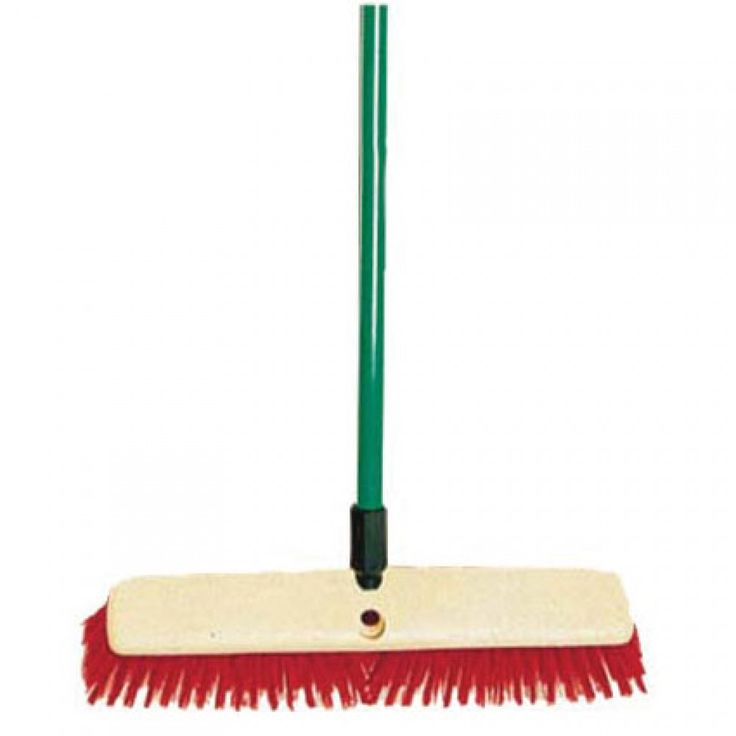 Synthetic Yard Broom