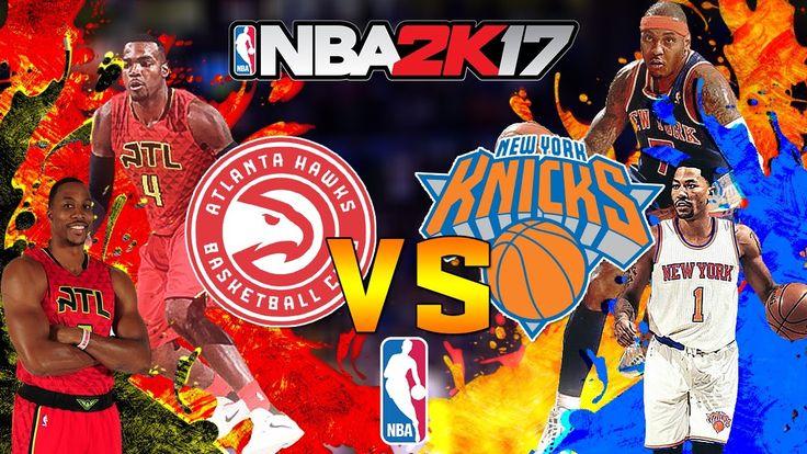 Atlanta Hawks vs New York Knicks|Ready to Rumble|NBA Matchday Simulation...