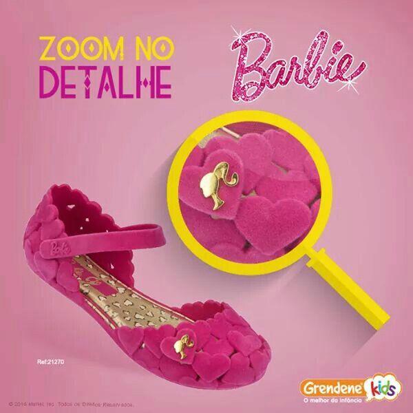 Calzado Grendene Barbie para Ninas !!!