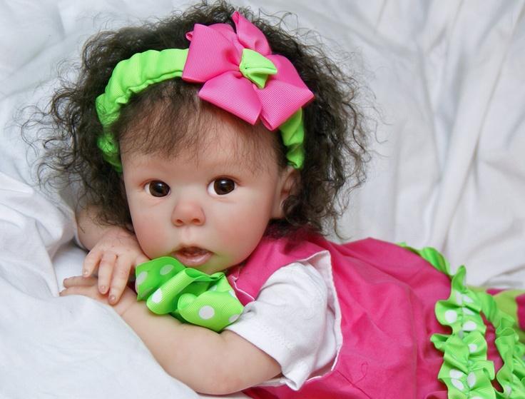 Reborn Baby Penelope - so very cute! (by Precious Newborns)