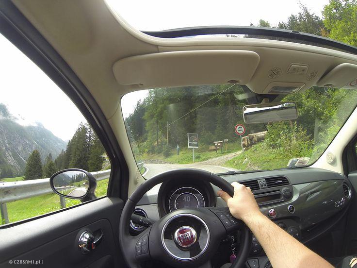 Passo dello Stelvio. Fiat 500C. Gopro. Italy