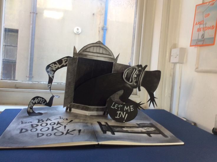 Pop Up Book Prop I Created To Promote The Horror Film Babadook