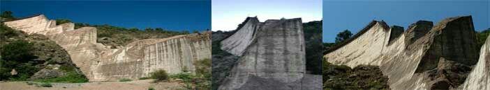 3 vues du barrage