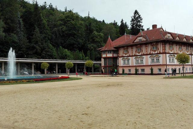 Luhačovice - cute spa town in the Czech Republic  Nohama pevně na zemi...ale jen někdy;): Místa, na která se ráda vracím - Places that I like to return to