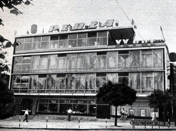 """SDH """"Perła"""", Krynica-Zdrój - 1964 rok, stare zdjęcia"""