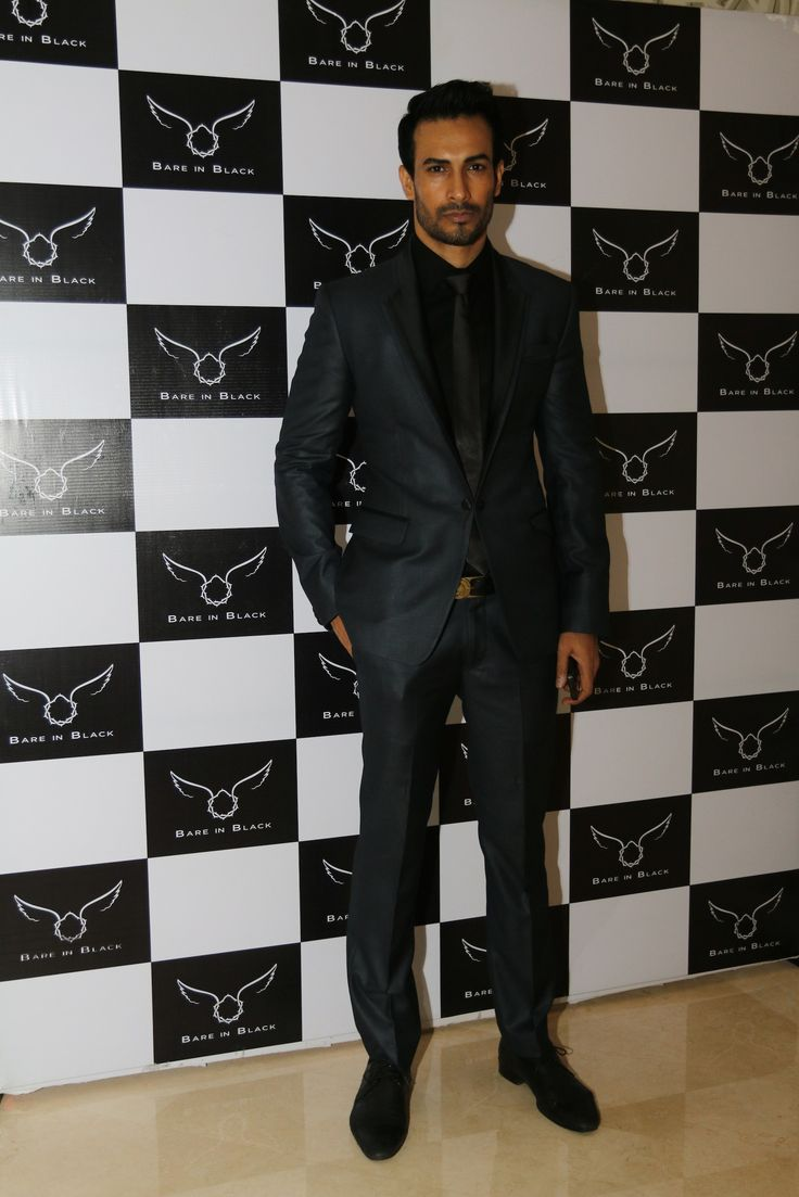 Asif Azim at Bare in Black launch.