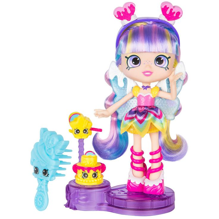 Shopkins Shoppies Series 4 Party Themed Rainbow Kate (Fancy Dress Party) Doll - Rainbow