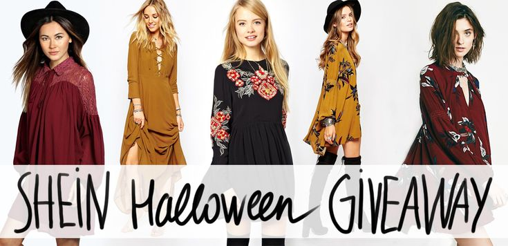 SheIn $120 Halloween GIVEAWAY - animal arithmetic