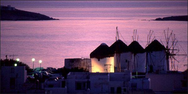 Το Ωραιότερο ηλιοβασίλεμα από τους Μύλους μας.....