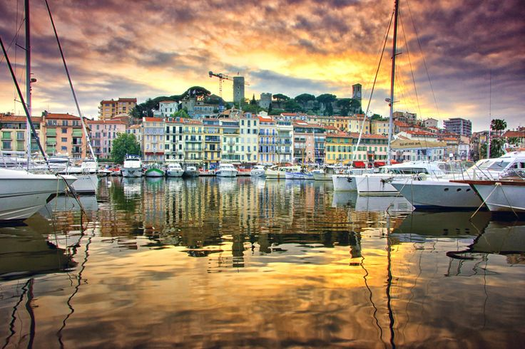 Golden Cannes -  the beautiful French Riviera