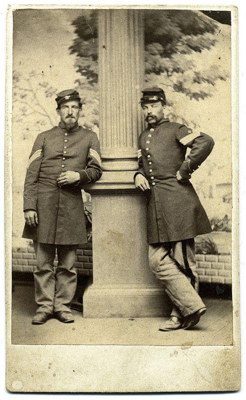A Pair of Federal Sergeants | by Ron Coddington