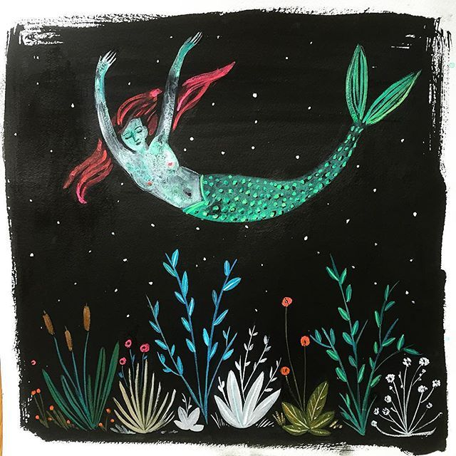 Weekend dreams #illustration #gouache #ink #365daysofpaint