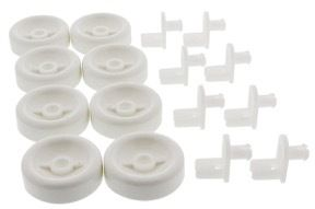 Dishwasher rack rollers 8 pack for WD35X21038 AP5986365 PS11726733