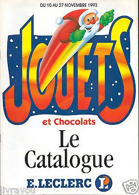 ▬► Catalogue Jouets Leclerc 1993 Poupées_Action Man_Transformers_James Bond