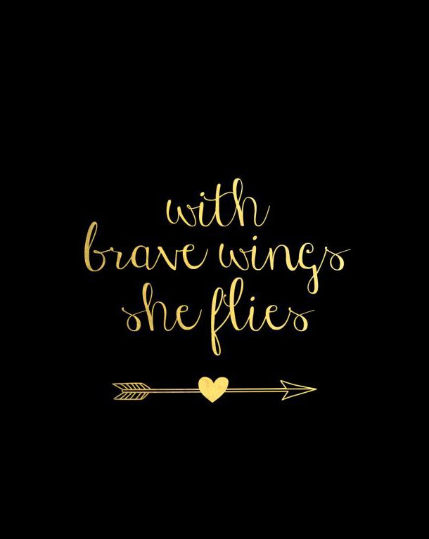 Crazy Girl Iphone Wallpaper With Brave Wings She Flies Fabulous Quotes Strong
