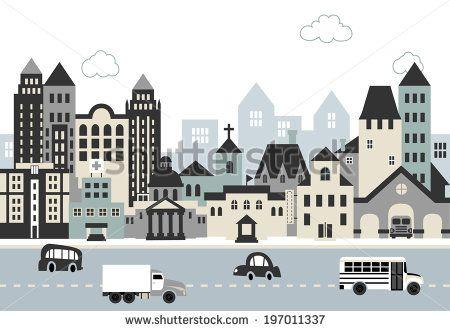 City illustration C
