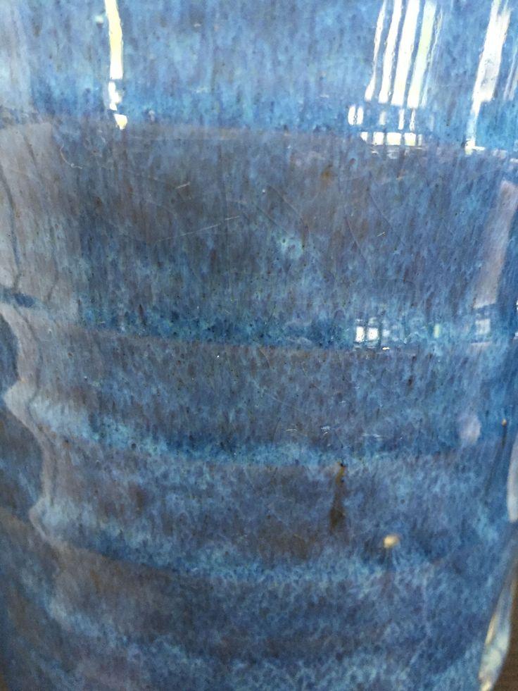 Nepheline Syenite 45.23% Gerstley Borate 24.5% Silica 18.9% Whiting 3.8% EPK (Kaolin) 5.7% Talc 1.9% Colorants Cobalt Carbonite 1% Light Rutile 4% Red Iron Oxide 2% Bentonite 2%