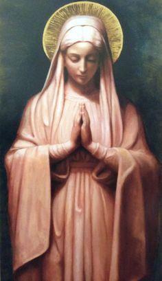 """""""Minha mãe é a virgem Maria, é ela que agora vai me acolher, me abraçar, me perdoar, me compreender..."""""""