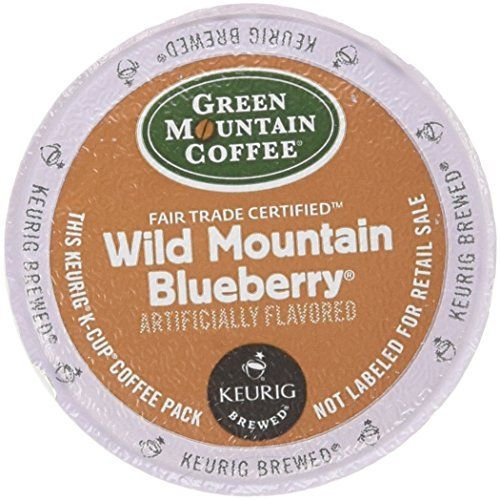 Green Mountain Coffee, Wild Mountain Blueberry K-Cup Portion Pack for Keurig Brewers, 24 count - http://teacoffeestore.com/green-mountain-coffee-wild-mountain-blueberry-k-cup-portion-pack-for-keurig-brewers-24-count/