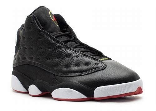 Air Jordan 13 Retro Playoffs 。Earlier today Sneaker News gave you another look at the Air Jordan III 'Black History Month', a release currently held for February 2011. Here's another pair of kicks you can't say no to in the month of February – the Air Jordan XIII Retro in Black, Varsity Red, White, and Vibrant Yellow (aka the 'Playoffs'). Jordan also wore these during the 1998 NBA All-Star Game – his final ASG as a Chi-Town Bull.