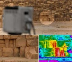Mysterious Heat detected in Great Pyramid