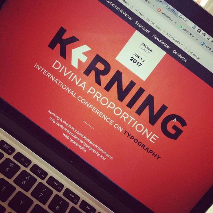 Schedule for Kerning Conference available online! #keming #type #conference