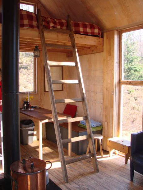 A spot of bothy: your cabin in the Cairngorms    A remote bothy in the Cairngorms national park that serves as an artists' residency space is being opened up to paying guests for part of the year