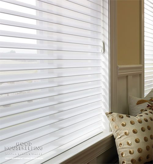 Sheer shades are elegant in design, soft to the touch, and accentuate the home with a luxurious feel.