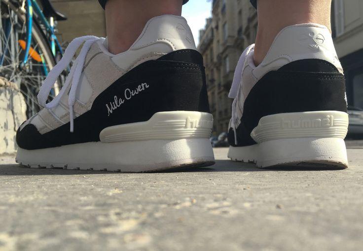 Sneakers femme - Hummel Mila Owen Atmos