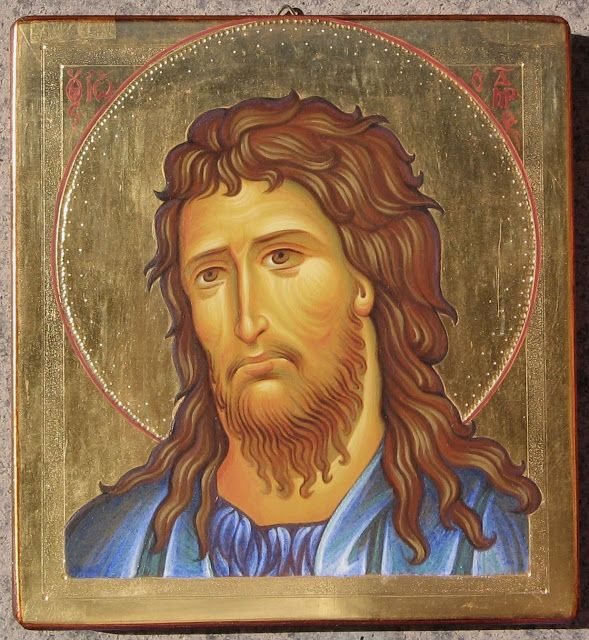 St. John the Baptist and Forerunner  Whispers of an Immortalist: Icons of Prophets 2