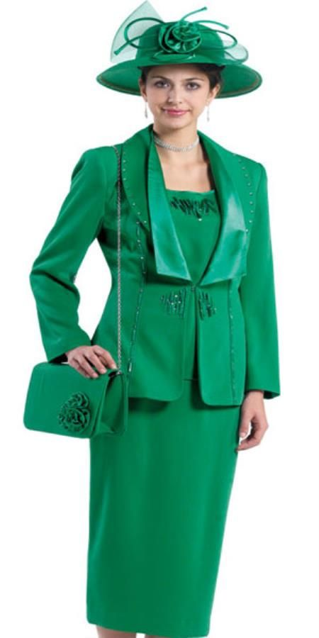 Lynda Couture Promotional Ladies Emerald Green Suits Mensusa
