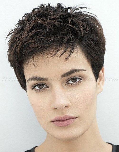 short haircut for women