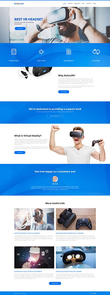 Electronics Virtual Reality website inspirations at your coffee break? Browse for more WordPress #templates! // Regular price: $75 // Sources available:.PHP, This theme is widgetized #Electronics #VR #VirtualReality #WordPress