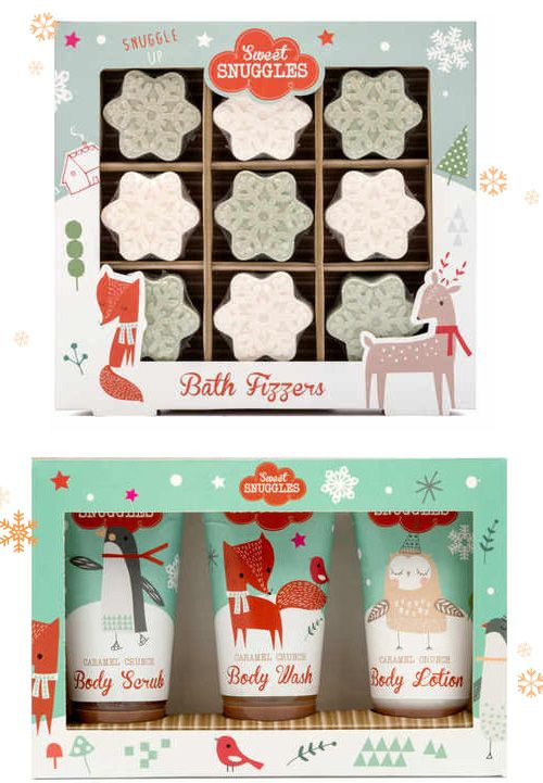 Sweet Snuggles: Christmas Package Design
