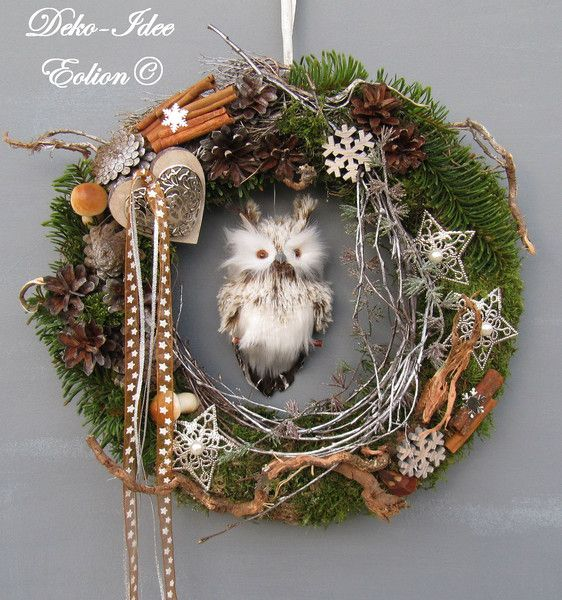 17 best images about kr nze f r jeden anla on pinterest fall wreaths moss wreath and advent. Black Bedroom Furniture Sets. Home Design Ideas