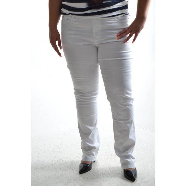 Dámske športové nohavice - biele