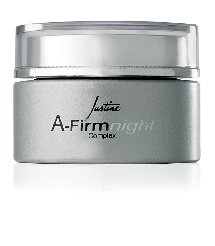 A-Firm Night Complex  Helps to enhance skin's ability to store moisture and ensure hydration. Suitable for normal to dry skin.  50 ml   Code 3650  http://www.justine.co.za/PRSuite/home_page.page
