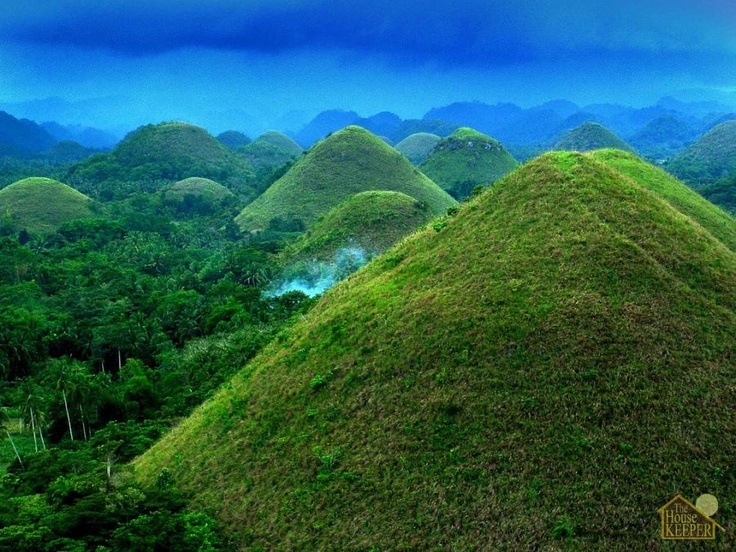 Chocolate Mountains In Bohol Philippines Philippines