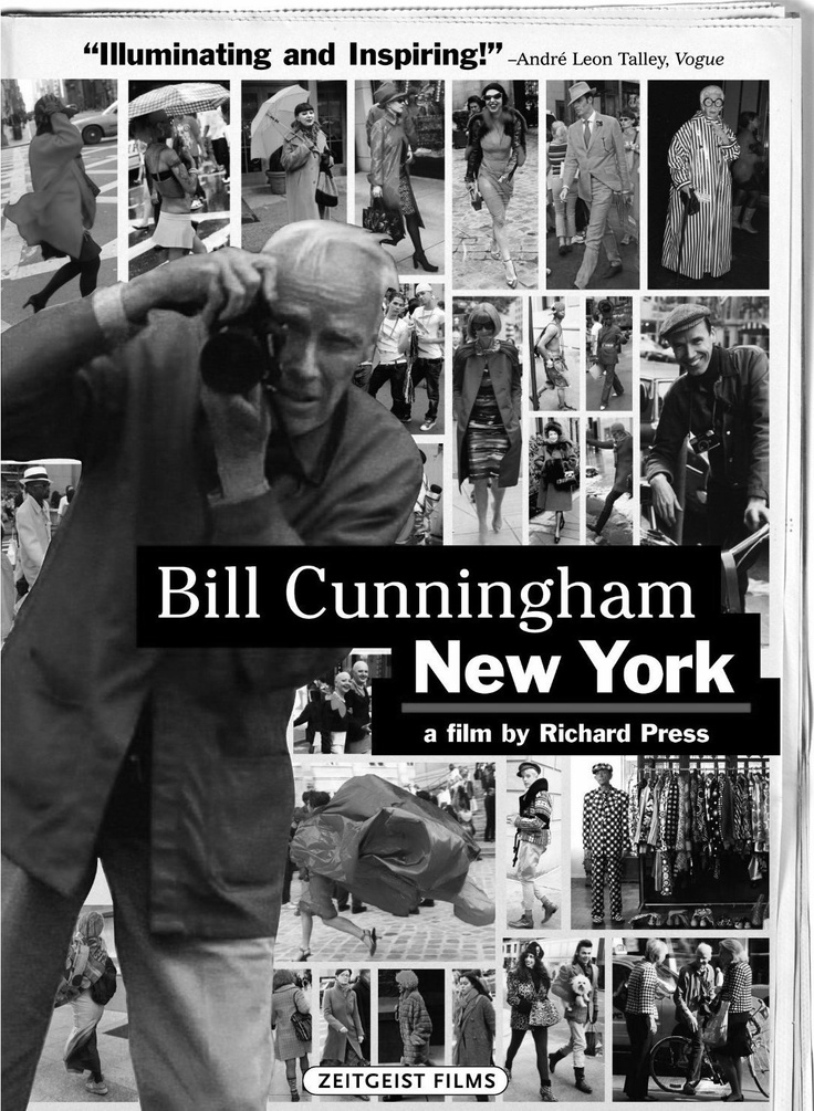 Bill Cunningham New York | photographer Bill Cunningham tirelessly records what people in New York are wearing | great documentary