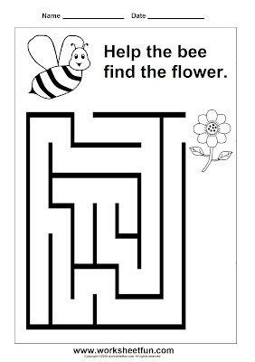 Preschool Maze