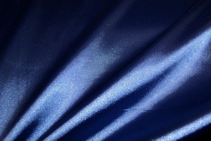 NB 4241-005 Satijn stretch blauw