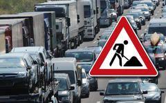 Stau auf der A2: An dieses Bild werden sich Autofahrer im Mai gewöhnen müssen.