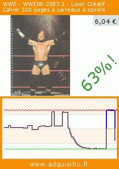 WWE - WWE08-2083.1 - Loisir Créatif - Cahier 100 pages à carreaux à spirale (Jouet). Réduction de 63%! Prix actuel 6,04 €, l'ancien prix était de 16,26 €. https://www.adquisitio.fr/wwe/08-20831-loisir-cr%C3%A9atif