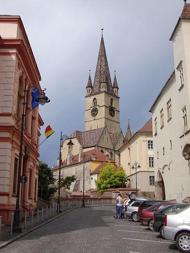 Sibiu Streets (Sibiu, Romania)