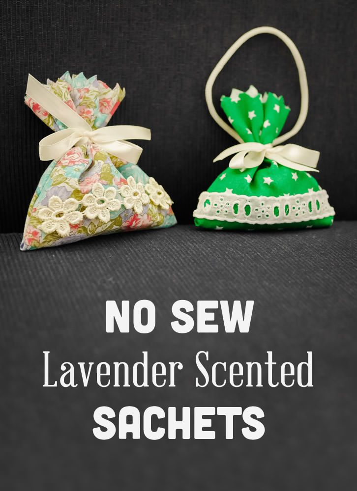 No Sew Lavender Scented Sachets Senior Moments Pinterest Activities Crafts And For Seniors