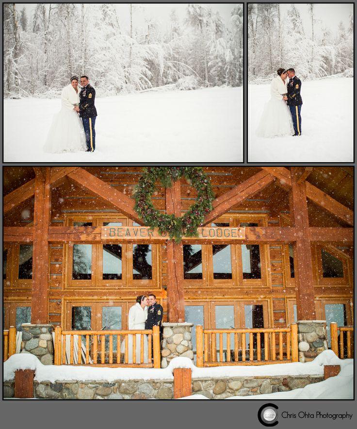 Winter wedding at mountain springs lodge in leavenworth wa for Leavenworth wa wedding venues
