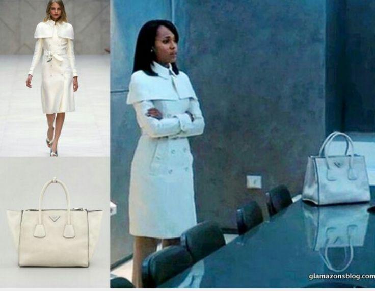 Scandal Fashion Recap: Olivia Pope's Burberry Spring 2013 White ...