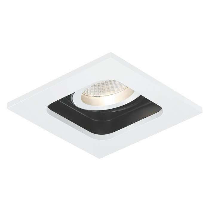 Oczko LAMPA sufitowaMINIQUAD MR16 MSTC-05355540 Mistic podtynkowa OPRAWA minimalistyczna WPUST biały